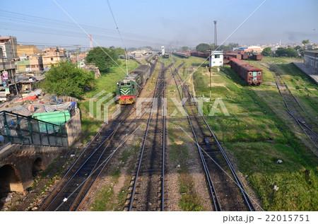 パキスタン ラホール パキスタン鉄道とラホールの街並み 22015751