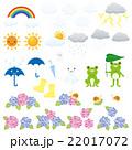 梅雨の素材セット 22017072
