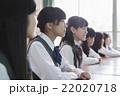 生徒 授業 女子の写真 22020718