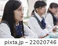 勉強 授業 女子の写真 22020746