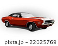 red classic muscle car 22025769