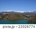 焼石連峰 奥州湖 残雪の写真 22026774