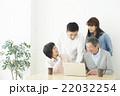 家族 パソコン インターネットの写真 22032254