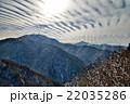 剣山 冬 雪山の写真 22035286