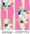 フラワー 花 水彩画のイラスト 22037731
