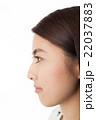 女性の横顔 スキンケア 美容 22037883