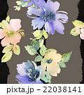 フラワー 花 水彩画のイラスト 22038141