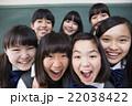 女子 中学生 高校生の写真 22038422