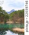 五色沼湖沼群 毘沙門沼 磐梯朝日国立公園の写真 22039746