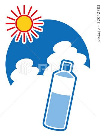 夏を乗り切れ 水分補給のイラスト素材 22042783 Pixta