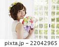 ウエディング ブライダル 花嫁の写真 22042965