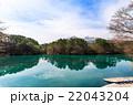 五色沼湖沼群 毘沙門沼 磐梯朝日国立公園の写真 22043204
