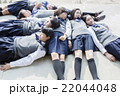 女子 中学生 高校生の写真 22044048