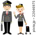 いろいろな仕事 パイロットとスチワーデス 22046975