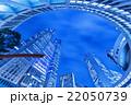 高層ビル 夜景 新宿の写真 22050739