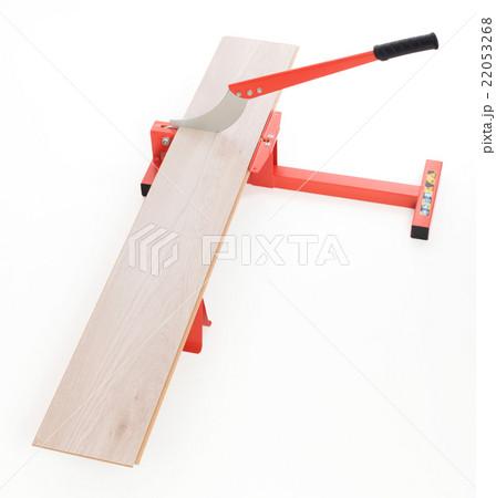 Red tool for cutting laminateの写真素材 [22053268] - PIXTA