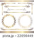 フレーム 罫線 飾り罫線のイラスト 22056449