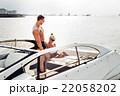 船 舟遊び 船遊びの写真 22058202