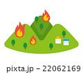 山火事 自然災害 乾燥【災害・シリーズ】 22062169