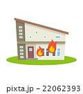 火災 火事 災害のイラスト 22062393