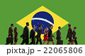 Brazil National Flag Business People Team Concept 22065806