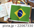 Brazil National Flag Studying Reading Book Concept 22067330