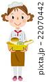 パン屋 パン ベーカリーのイラスト 22070442