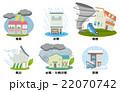 自然災害のセット【災害・シリーズ】 22070742