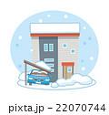 雪害 大雪 住宅【災害・シリーズ】 22070744