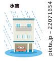 水害 ゲリラ豪雨 浸水【災害・シリーズ】 22071654