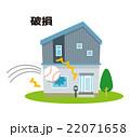 破損 保険 被害【災害・シリーズ】 22071658