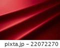 赤色 ドレープ サテンの写真 22072270