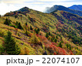 紅葉の大菩薩峠稜線 22074107