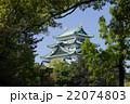 名古屋城天守閣 北側から 22074803