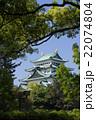 名古屋城天守閣 北側から 22074804