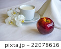 Breakfast With Milk And Red Apple 22078616