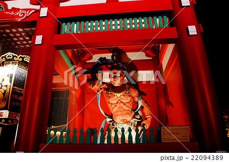 浅草観音 浅草寺 金剛力士像 ( 仁王 ・ 吽形像 ) 聖観音宗の総本山 ( 東京都 台東区 浅草  22094389