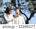 祖母と孫 散歩 22096377