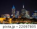 メルボルン 高層ビル 夜景の写真 22097805