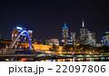 メルボルン 高層ビル 夜景の写真 22097806