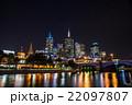 メルボルン 高層ビル 夜景の写真 22097807