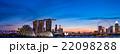 シンガポール中心地のイメージ マジックアワー 22098288