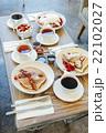 パンケーキとコーヒー 22102027