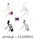 Philippines country black silhouette 22106602