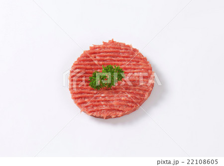 hamburger pattyの写真素材 [22108605] - PIXTA