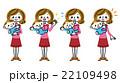 子育て 母親 赤ちゃんのイラスト 22109498
