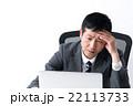 ビジネスマン 22113733