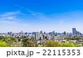 仙台城跡から眺める仙台の町並み 22115353