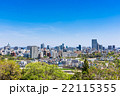 仙台城跡から眺める仙台の町並み 22115355