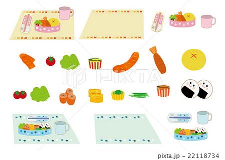 幼稚園お弁当セット 22118734